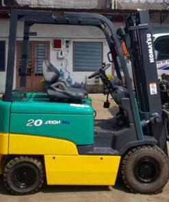 xe nâng điện Komatsu FB20EX-11 2T-3M ngồi lái
