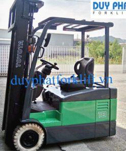 Xe nâng điện ngồi lái TOYOTA 1,8T - 4M 7FBE18
