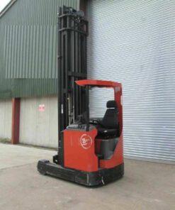 Xe Nâng Điện BT 2.5 tấn, nâng cao 10.5 mét, ngồi lái (Thụy Điển)