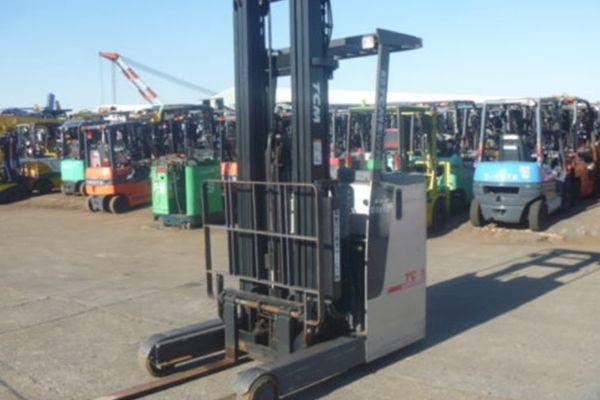 Xe nâng điện TCM FR15-7H do Duy Phát nhập khẩu từ Nhật Bản