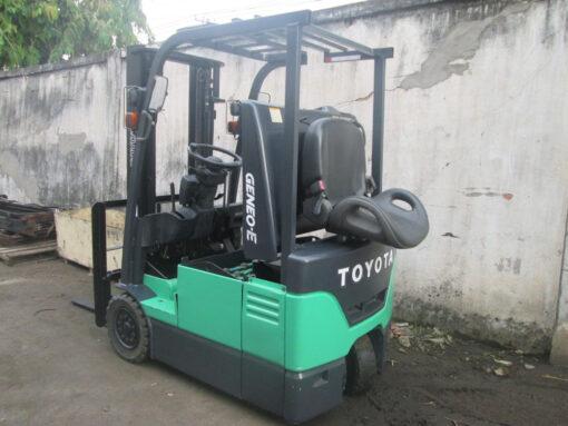 Xe nâng điện TOYOTA 1,5T - 3M 7FBR15 thiết kế đẹp, nhỏ gọn và độc đáo