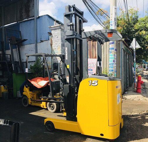 Xe nâng điện đứng lái KOMATSU 1,5T – 5M FB15RL-15