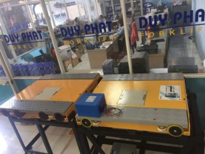 Dịch vụ sửa chữa và cung cấp phụ tùng robot pallet shuttle Duy Phát
