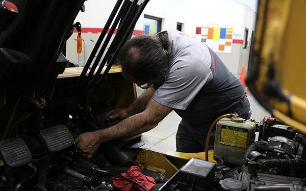 Dịch vụ sửa chữa xe nâng Hải Phòng