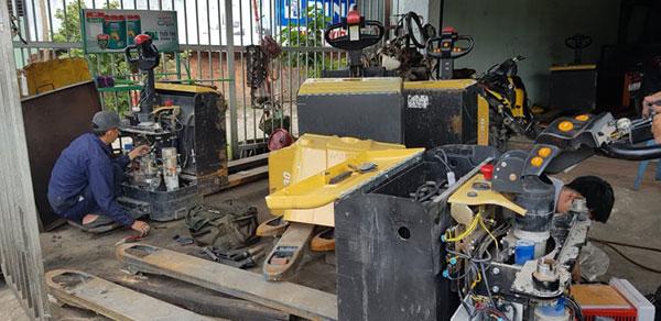Dịch vụ sửa chữa xe nâng Hải Phòng chuyên nghiệp