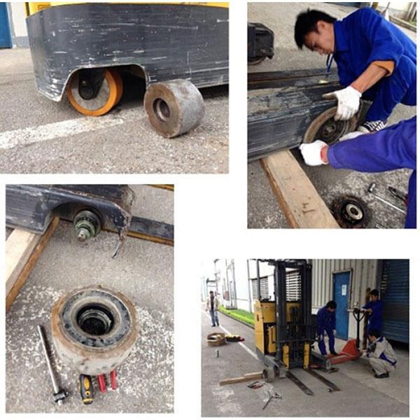 Dịch vụ sửa chữa xe nâng hàng tại Công ty Duy Phát