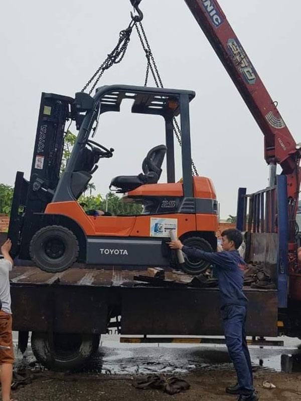 Sửa chữa xe nâng tại Bắc Ninh