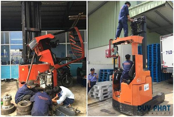 Dịch vụ sửa chữa xe nâng tại Bình Dương