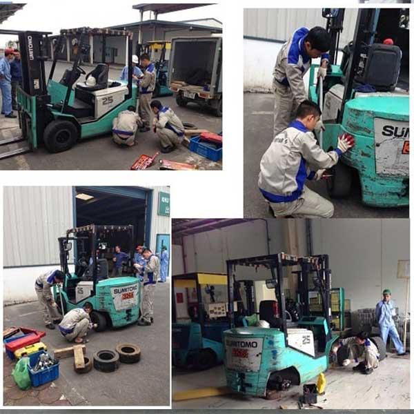 Dịch vụ sửa chữa xe nâng tại Đà Nẵng