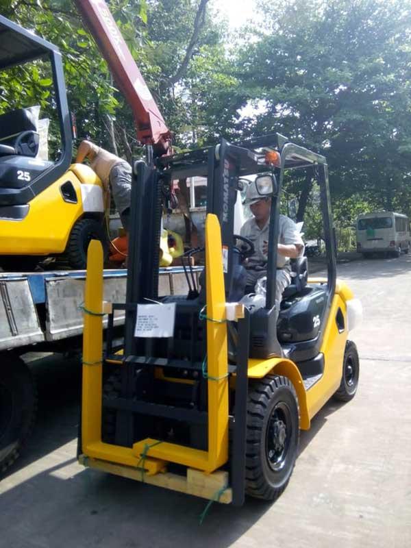 Dịch vụ sửa chữa xe nâng tại Đồng Nai nhanh chóng, kịp thời