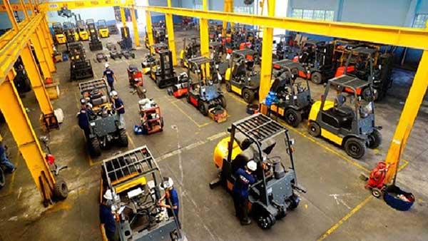 Dịch vụ sửa chữa xe nâng tại Hà Nội nhanh chóng
