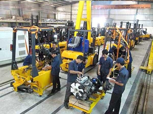 Đơn vị cung cấp dịch vụ sửa chữa xe nâng tại Hà Nội uy tín