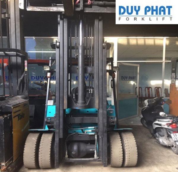 Xe Nâng Điện 2500 Kg Sumitomo, nâng cao 5 mét, ngồi lái
