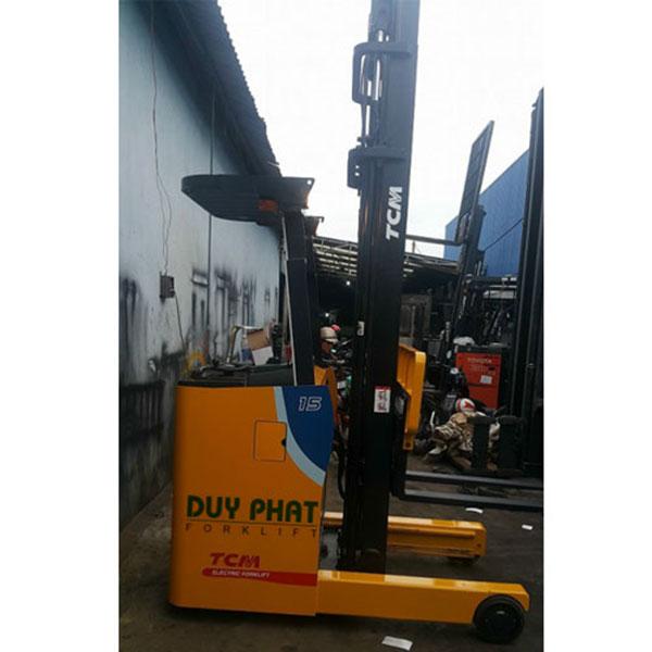 Xe nâng điện TCM 1,5 tấn, nâng cao 5m