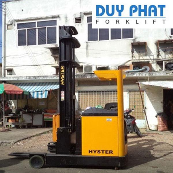 Xe Nâng Điện Hyster 2.5 tấn, nâng cao 9.5 mét, ngồi lái