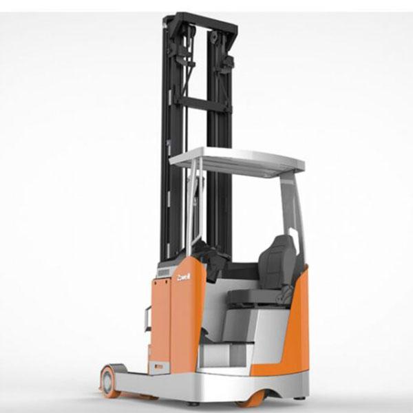 Báo giá xe nâng điện đứng lái ReachTruck: Liên hệ