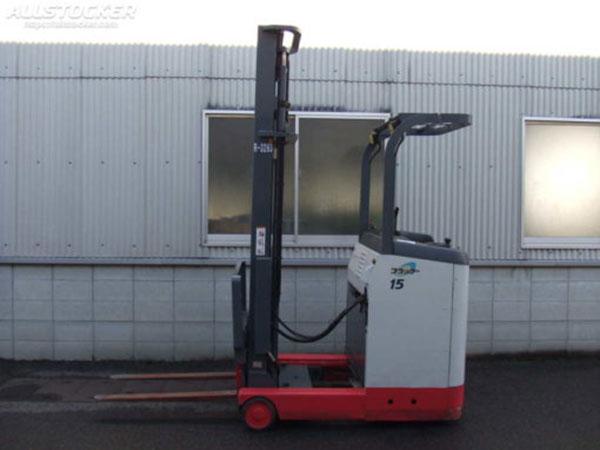 Xe Nâng Điện đứng lái 1.5 tấn Nichiyu, nâng cao 4.5 mét