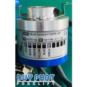 Phụ tùng đo tốc độ của motor Encoder ELTRA EMI38F1024Z5/28P10X6PR.1029