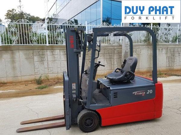 Xe nâng điện Nichiyu 1 tấn, ngồi lái, nâng cao 4 mét